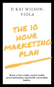 Book Cover: The Ten Hour Marketing plan